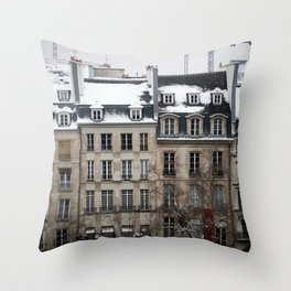 la rue Throw Pillow