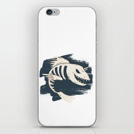 Fish Skull / Skeleton iPhone Skin