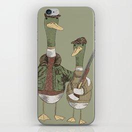 Hunting Ducks iPhone Skin