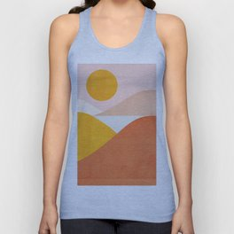 Abstraction_Mountains Unisex Tank Top