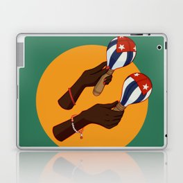 Cuban Maracas Laptop & iPad Skin
