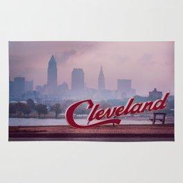 Homesick - Cleveland Skyline Rug