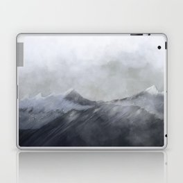 happy in the mountains Laptop & iPad Skin