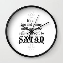 Soul Selling Wall Clock