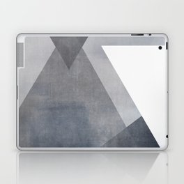 Strength  No. 2 | Abstract in Blue + Gray Laptop & iPad Skin