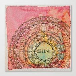 Shine Mandala Canvas Print