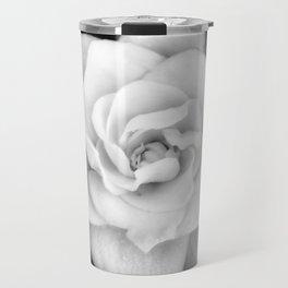 Gardenia Black and White Travel Mug