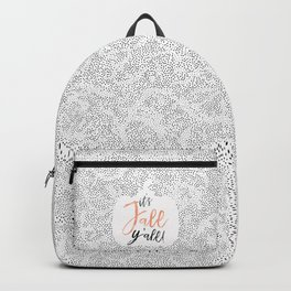 It's Fall Y'all! Backpack