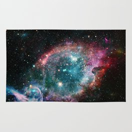 Galaxy and nebula Rug