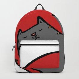 yin yang 2 Backpack