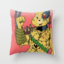 Kill Bear 2000 Throw Pillow