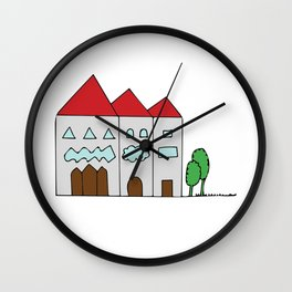Sweet Home Wall Clock