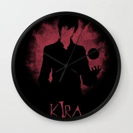 I Am Justice! Kira Wall Clock