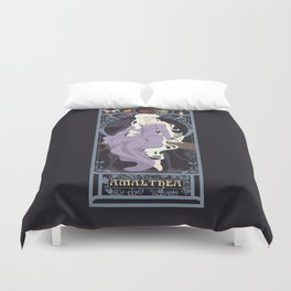 Amalthea Nouveau - The Last Unicorn Duvet Cover