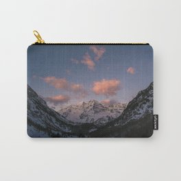 Sunrise over the Maroon Bells Carry-All Pouch