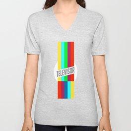 Televisor  Unisex V-Neck