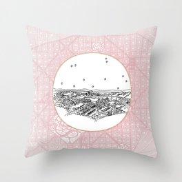 Belo Horizonte, Brazil City Skyline Throw Pillow