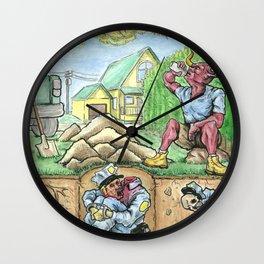 COMPOST Wall Clock