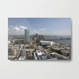 Miami Heat Day www.scsprints Metal Print