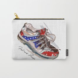Fashion illustration with sport boots. Trendy design Carry-All Pouch