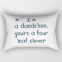 We're a lucky pair Rectangular Pillow