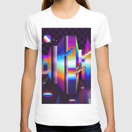 colorful labyrinth T-shirt