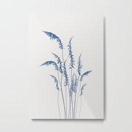 Blue flowers 2 Metal Print