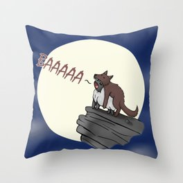 Sheep In Wolves' Clothing Throw Pillow