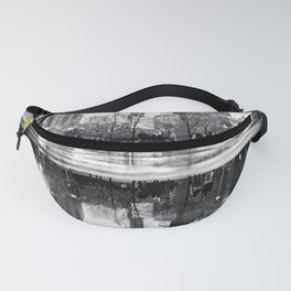 Monochrome Nature Chicago Fanny Pack