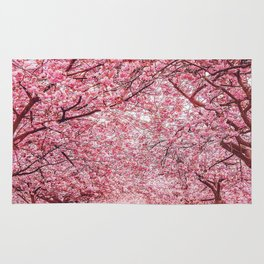 Cherry Blossom in Greenwich Park Rug