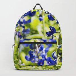 Texas Bluebonnet Up Close Backpack