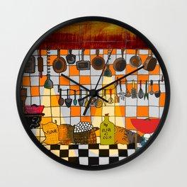 Ratatouille's Kitchen Wall Clock