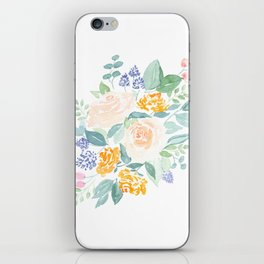 I Never Promised You a (Mini) Rose Garden iPhone Skin