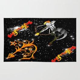 Sagittarius Astrology Sign Rug