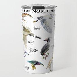 Herons of North America Travel Mug