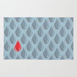 Rainning Blood Rug