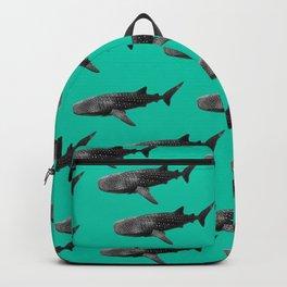 Big Fish, B & W Backpack