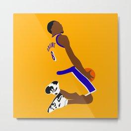 NBA Players   KobeBryant Dunk Metal Print