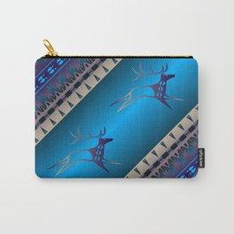 Elk Spirit (Blue) Carry-All Pouch