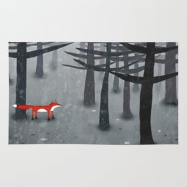 The Fox and the Forest Rug