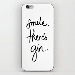 Smile - Gin iPhone Skin
