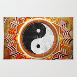 Yin Yang - Healing Of The Orange Chakra Rug