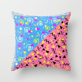 SAVED BY THE 90'S Throw Pillow