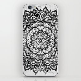 BLACK JEWEL MANDALA iPhone Skin