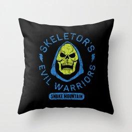 Bad Boy Club: Skeletor's Evil Warriors  Throw Pillow