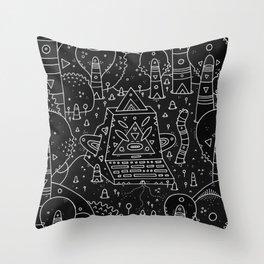 koznoz jungle Throw Pillow