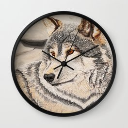 Awakened by the Sound of Play Wall Clock