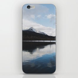 Snow-capped Reflections iPhone Skin
