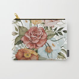 Roses and Poppies Carry-All Pouch