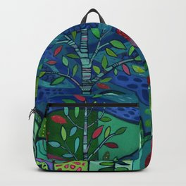 Bird by the Pond Backpack